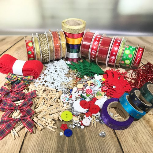 Fantastic Ribbons | Christmas Embellishment and Gift Wrapping Kit