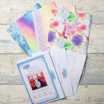 Living in Loveliness | Hummingbird – Fabulously Fast Fat Quarter Fun – Rainbow hummingbird