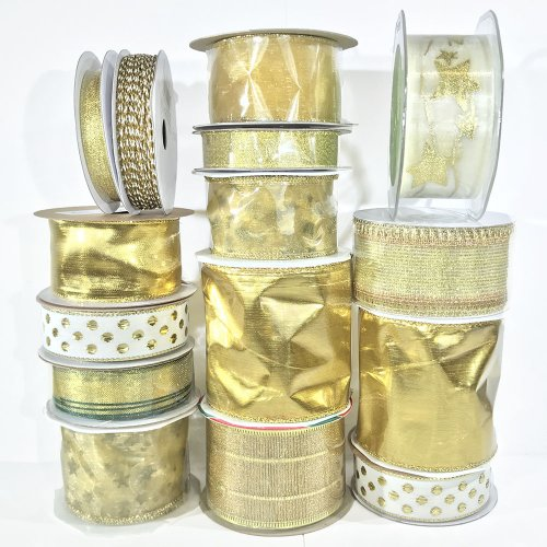 Fantastic Ribbons | Gold & Sparkle Gift Wrap Collection