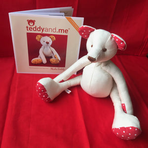 teddyand.me | Make Teddy Sewing Pattern | Paper
