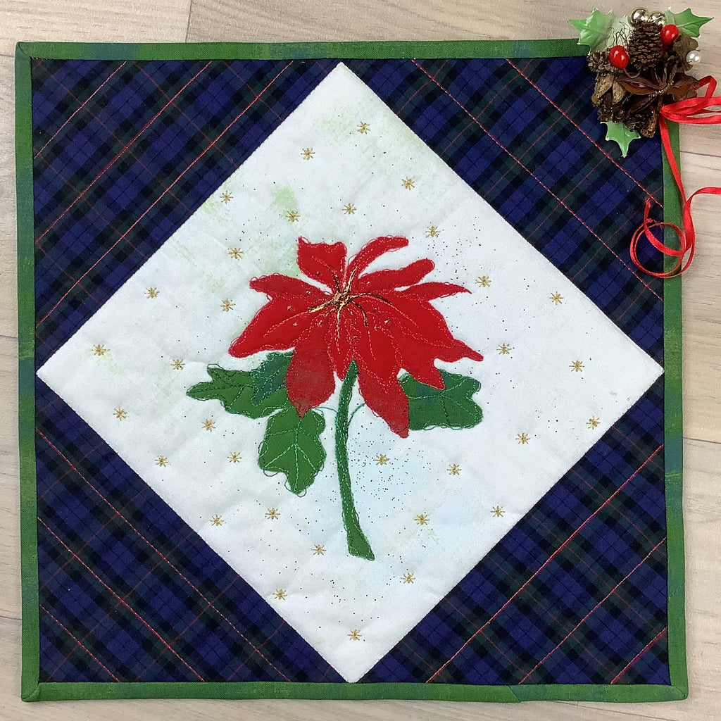 Pat Archibald | Quilting | Sparkling Christmas Poinsettia | AAA Show Kit