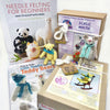 Woolly Felters | Bumper Bundle: How to Make Little Needle Felted Teddy Bears Book, Bear Buddy Needle Felting Kit, Beginners Book plus Ickle Mouse Needle Felting Kit | 2021 AAA Spring Show Kit