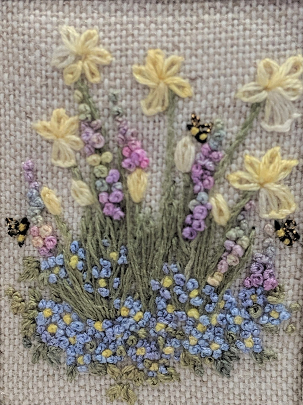 Lorna Bateman | Spring is in the Air – a design from Embroidered Country Gardens