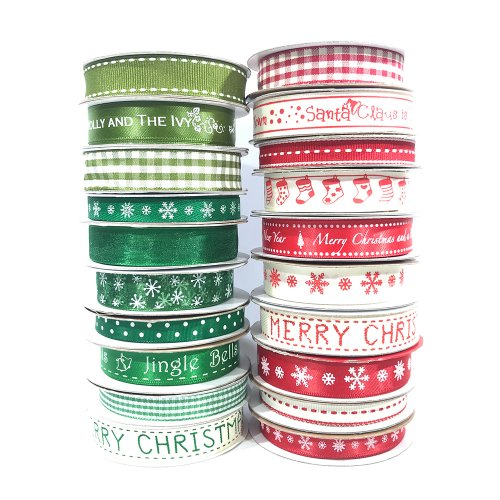 Fantastic Ribbons | Ultimate Festive Homespun Ribbon Collection