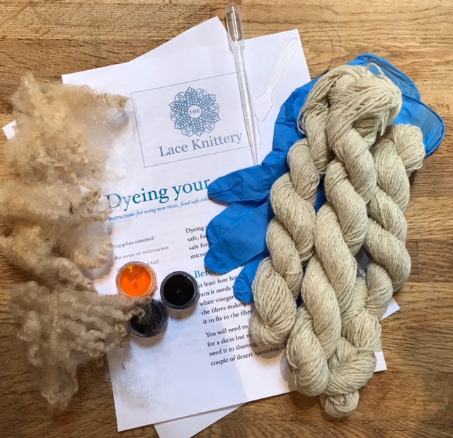 The Lace Knittery | Bumper Beginning to Dye Kit