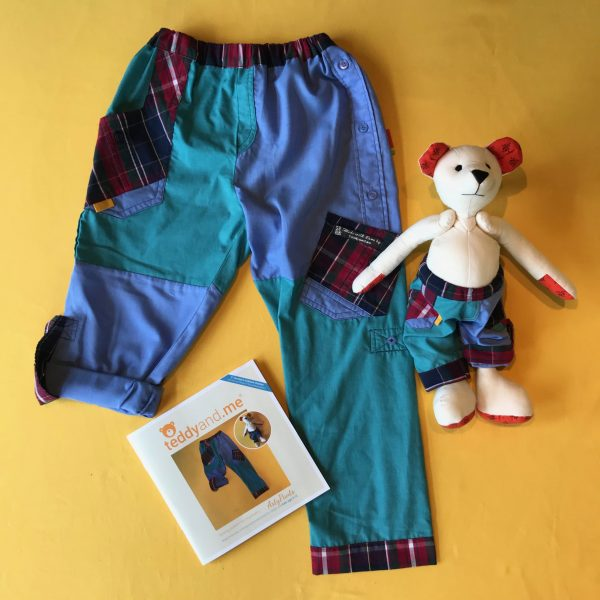 teddyand.me | Arty Pants Sewing Pattern | PAPER