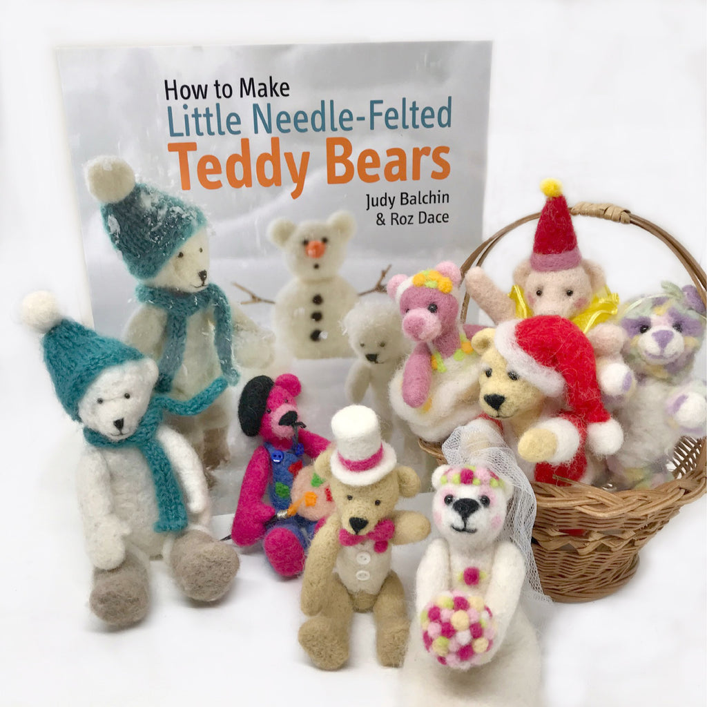 Woolly Felters | How to Make Little Needle-Felted Teddy Bears Book