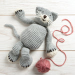 Wool Couture | Chloe The Cat Knitting Kit | 2021 AAA Spring Show Kit