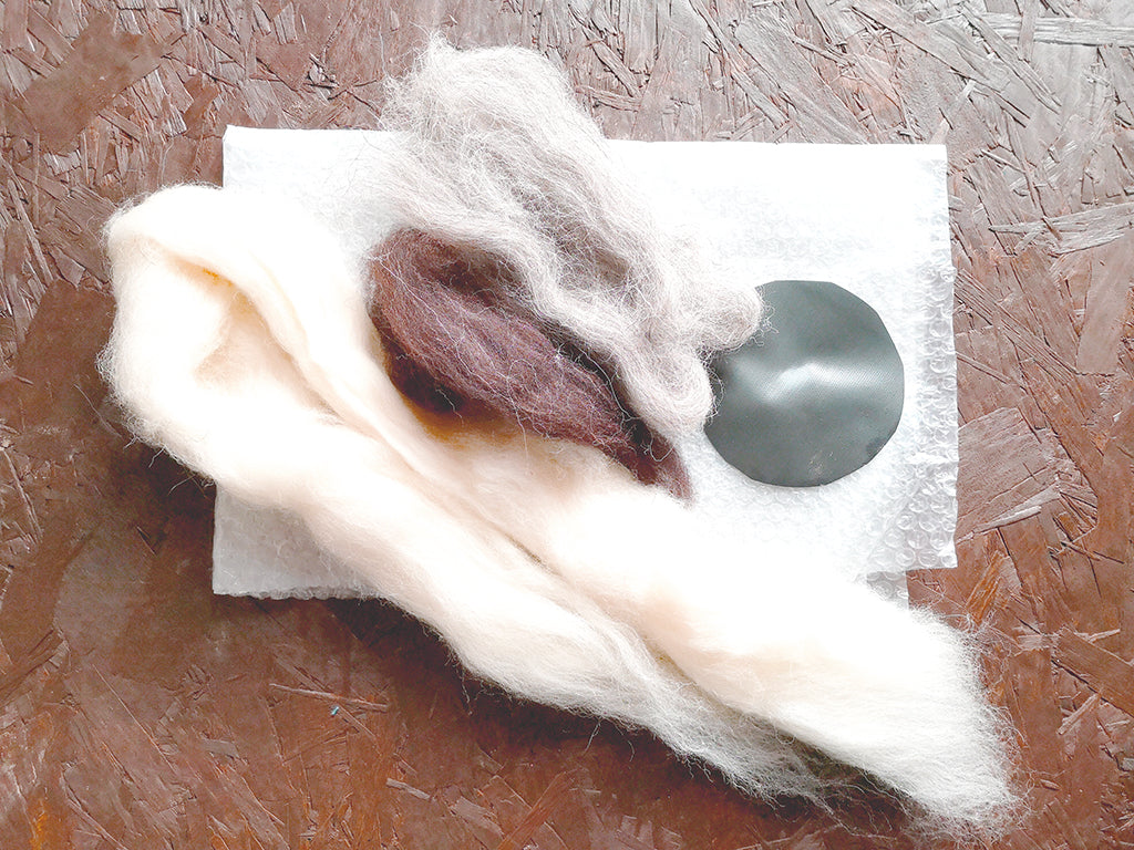 Bex Raven | Wet felting kit – Basic