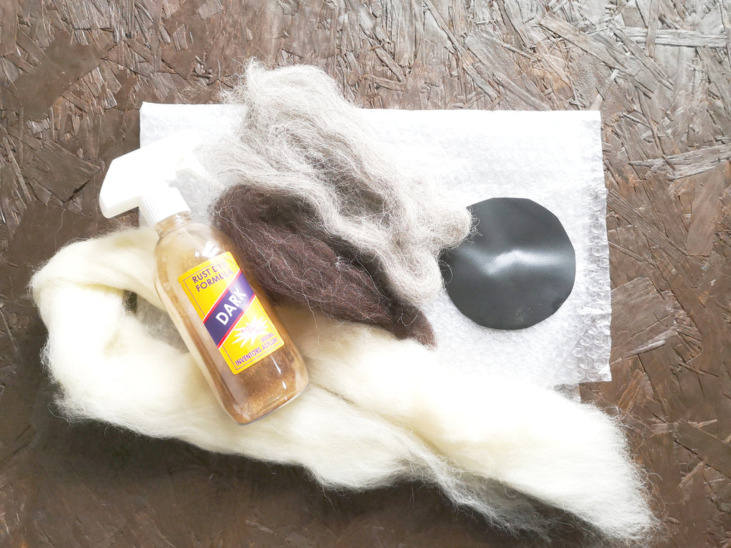 Bex Raven | Wet Felting Kit – Plus Rust Dye | AAA Show Kit
