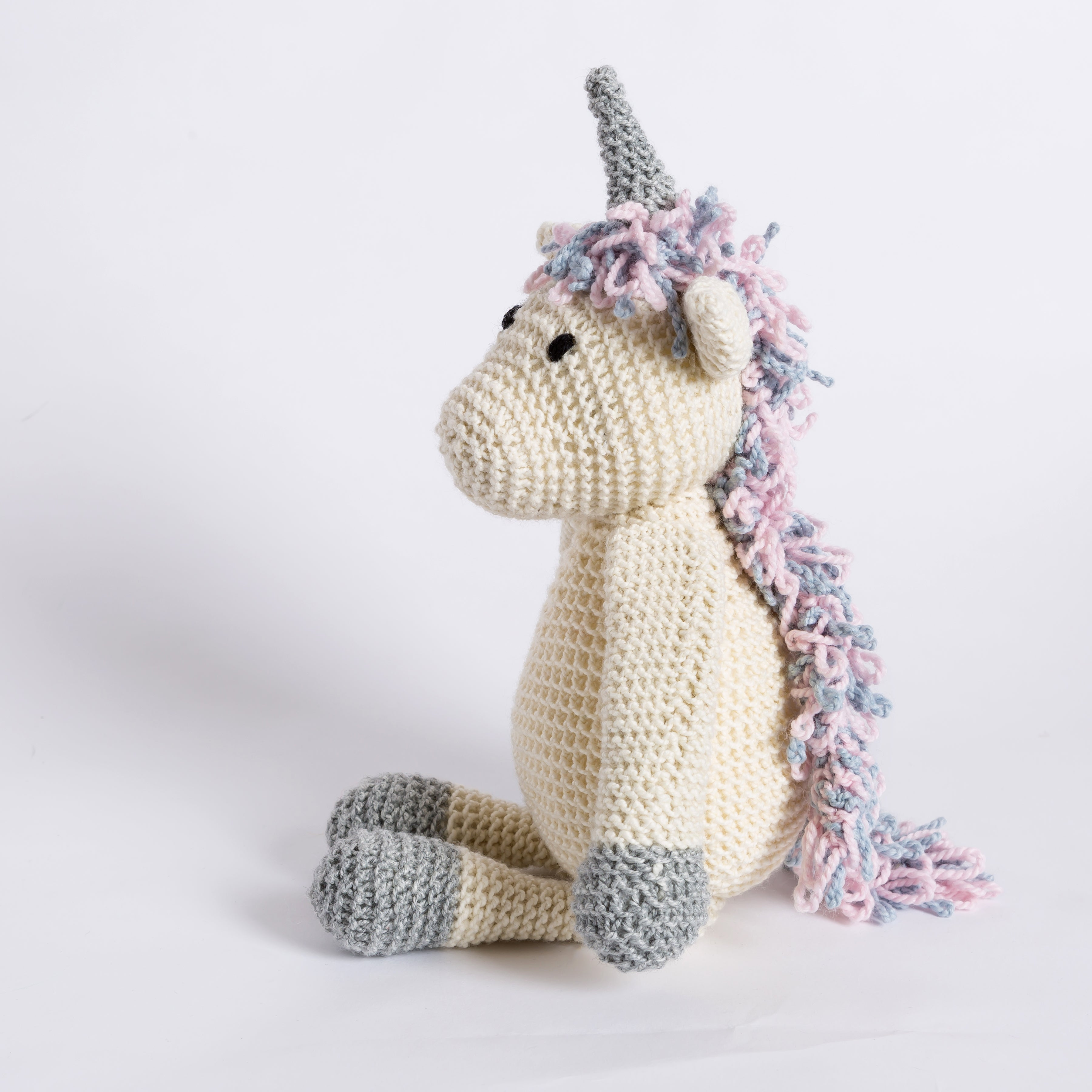 Wool Couture | Lucy The Unicorn Knitting Kit | 2021 AAA Spring Show Kit
