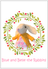 Crafty Kestrel | Knitted Easter Bunny Pattern | 2021 AAA Spring Show Kit