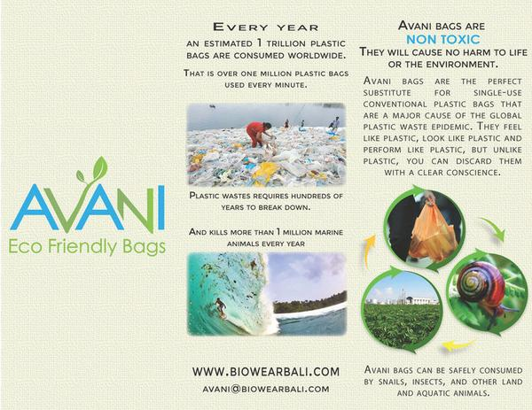 We've Switched to Avani Eco Bags!