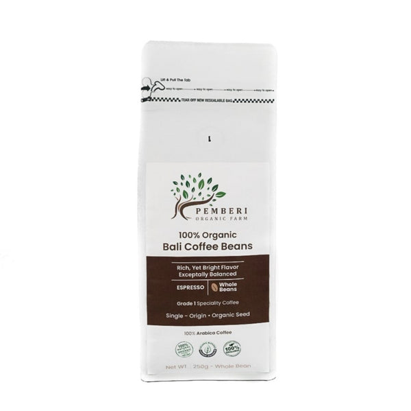 Coffee Bali Pemberi, Espresso Whole Beans - 250 g
