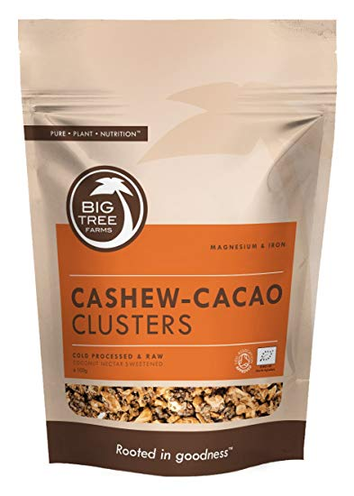 Cashew Cacao Clusters / Big Tree Farms - large 250 g