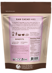 Raw Cacao Nibs / Big Tree Farms - 250 g