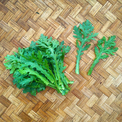 Chrysanthemum Greens, Shungiku - 200 g