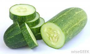 Cucumber, Light Green - 1kg