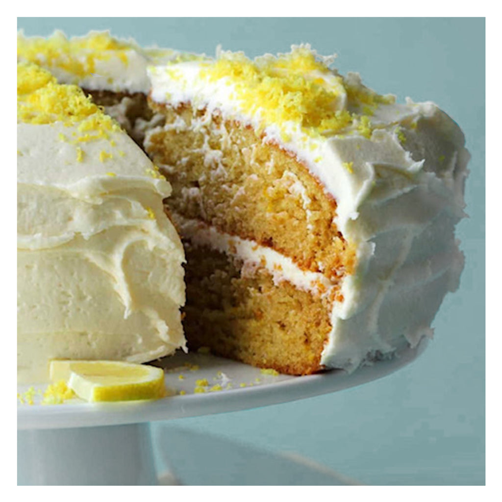 Lemony Delight Coconut Cake