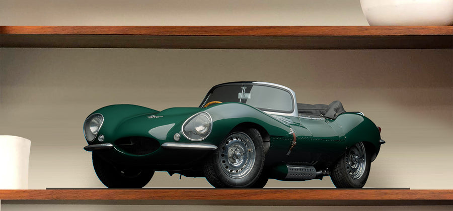 MotoMirage™ 1956 Jaguar XKss by Michael Furman