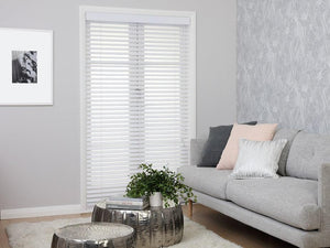 White Cedar Wooden Venetian Blinds 46mm Slat