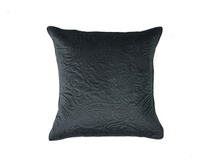Heirloom Charcoal European Pillow Case