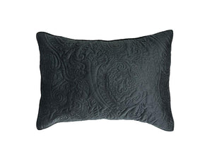 Heirloom Charcoal Pillow Case