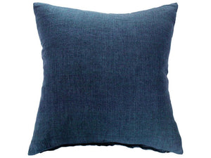 Indira Linen Indigo Blue Cushion
