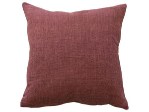 Indira Red Clay Linen Cushion