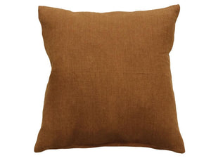 Indira Tobacco Linen Cushion