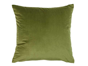 Super Soft Velvet Cushion Cover Leaf