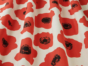 Vallmo Poppy Fabric