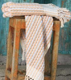 Luxury Organic Artisan Towel, 100% GOTS Cotton, Multi Color, 55 x 95cm