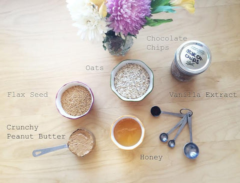 Ingredients in Cute Bowls