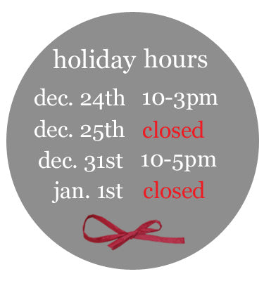 Revival Holiday Store Hours