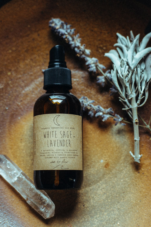 White Sage + Lavender Essential Oil Mist