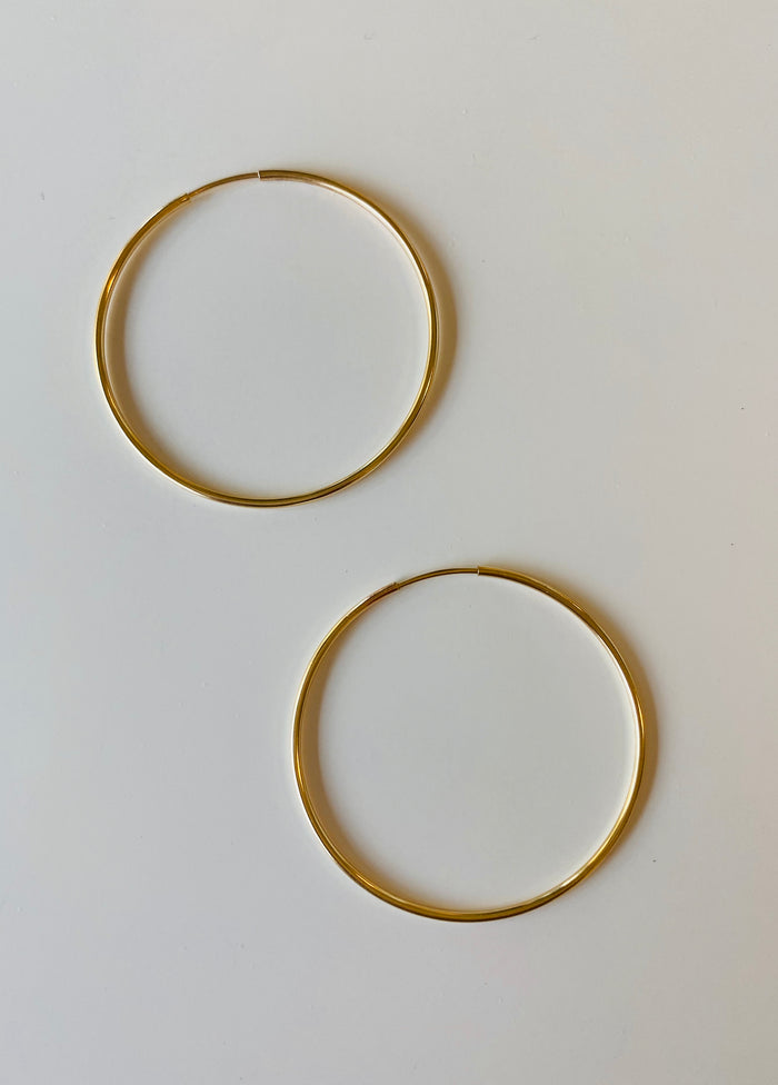 Simple Hoop Earring by {made} Community