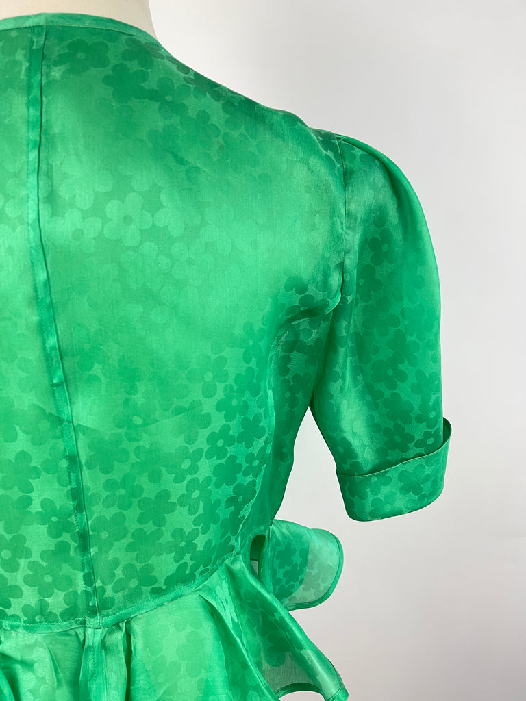 Susana Monaco Grey Drape Back Dress