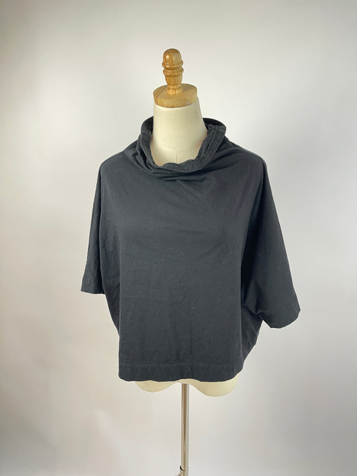 W5 Yellow Printed Tie Top (S)
