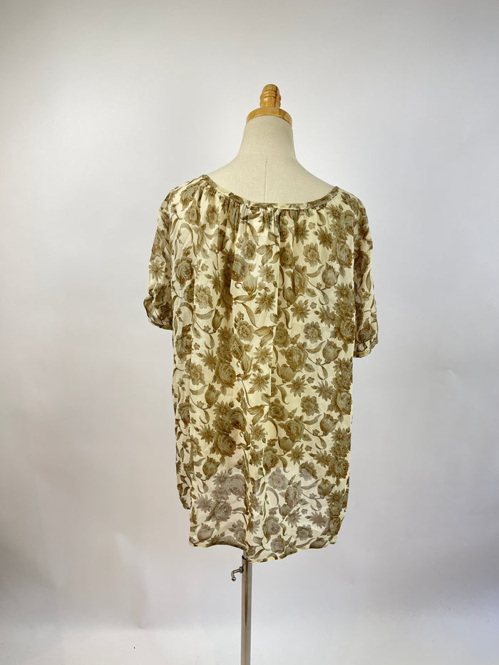 Silence + Noise Paisley Dress (M)