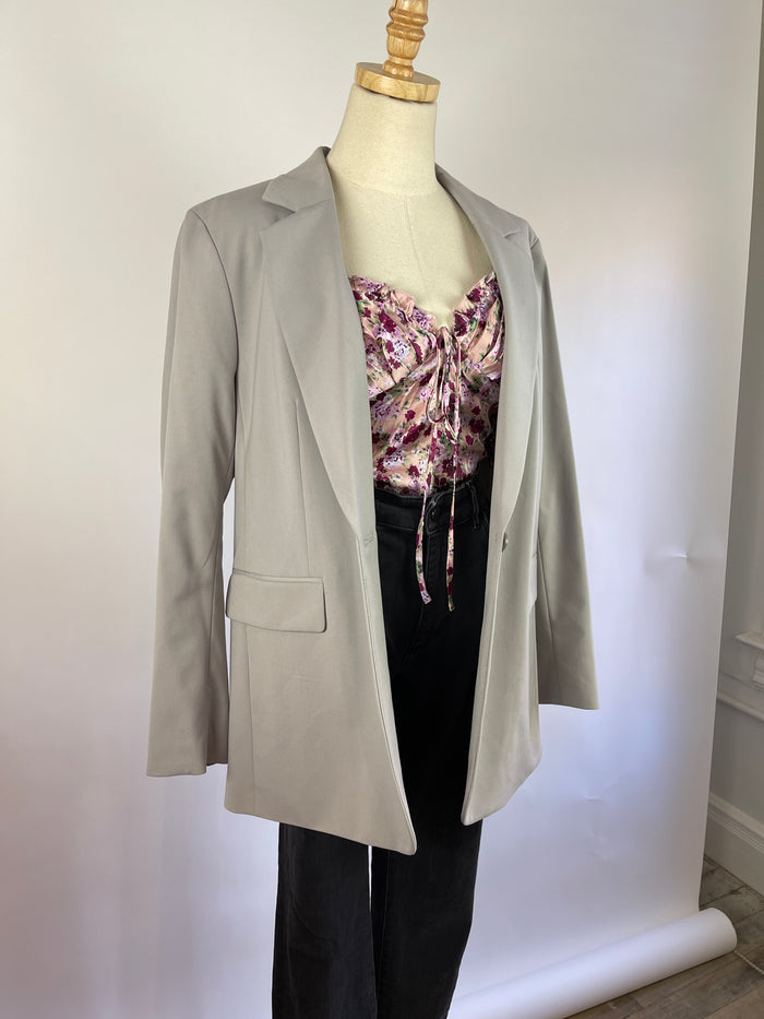 Vintage Black Woven Shoulder Bag