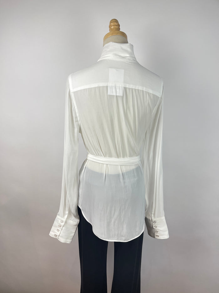 Vintage Liz Claiborne Cream Cotton Sweater (L)