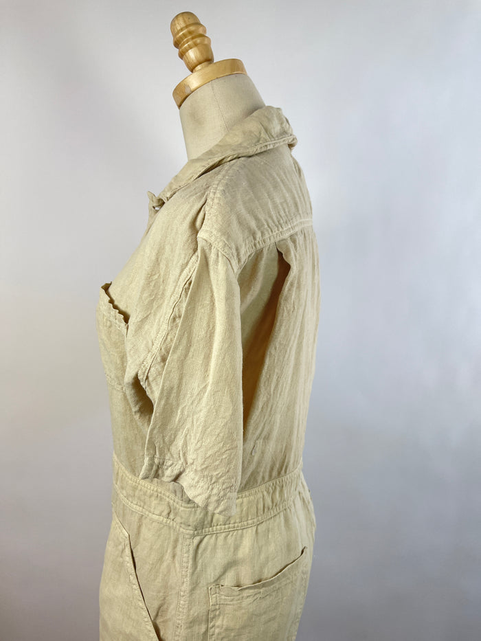 Velvet by Graham & Spencer Navy Jumpsuit (M)