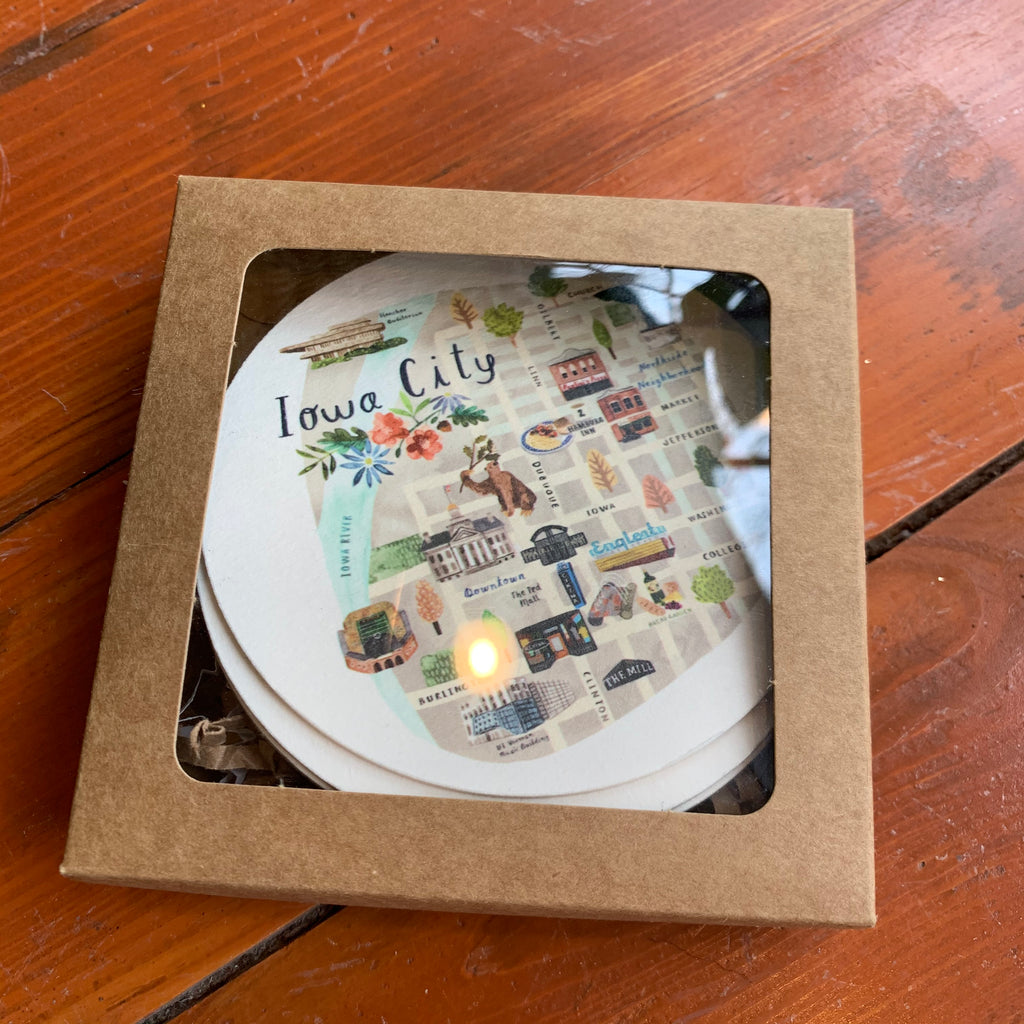 IC Map Collection Coasters