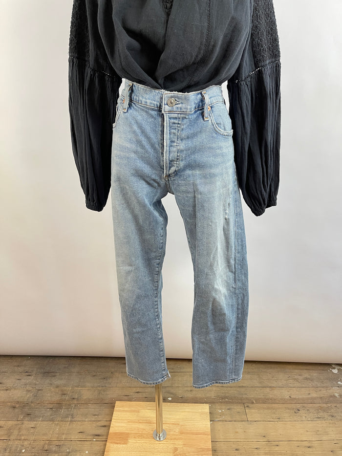 Matt Bernson Navy Suede High Tops (6)