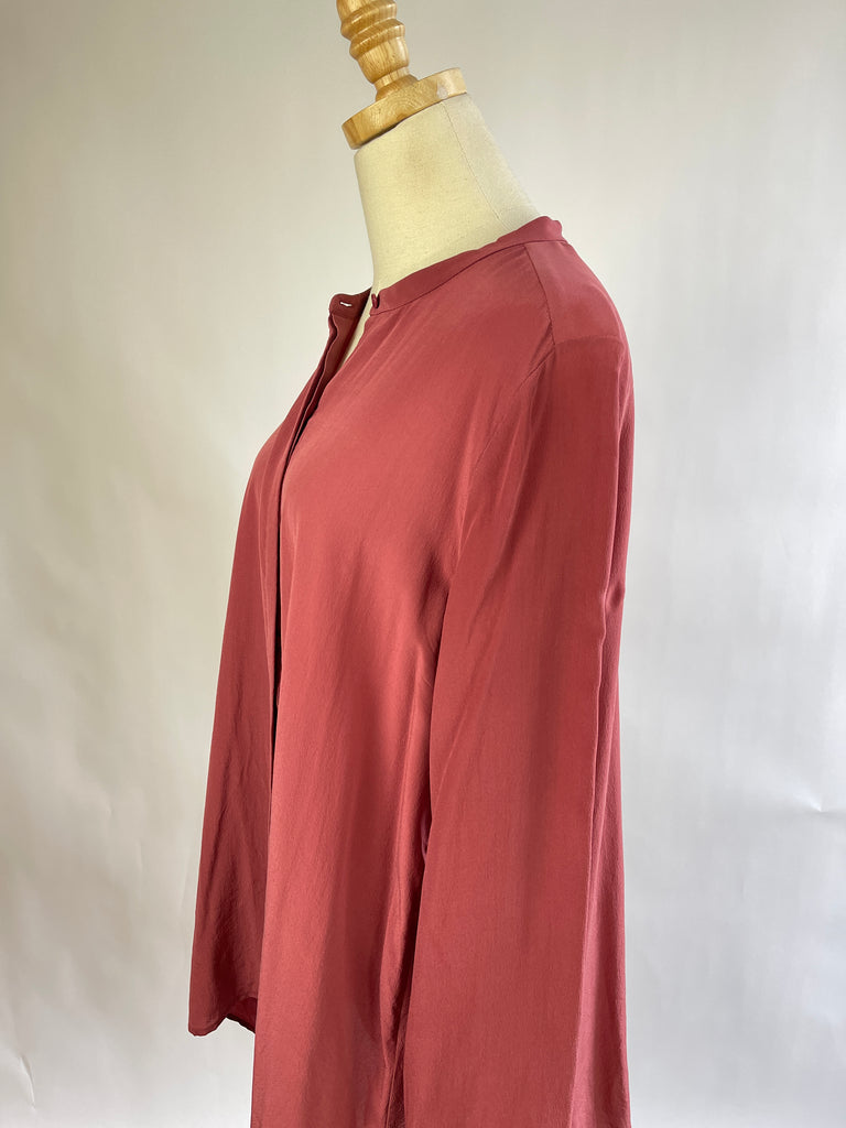 Vintage Wool Plaid Blazer (XS/S)