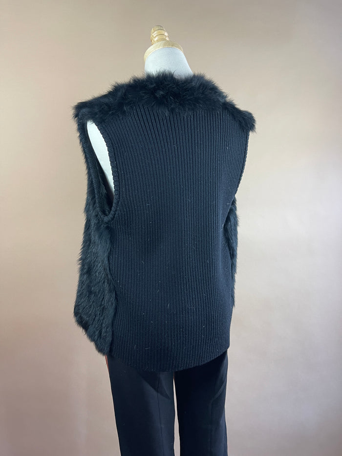 Velvet by Graham & Spencer Faux Suede Vest (XS)