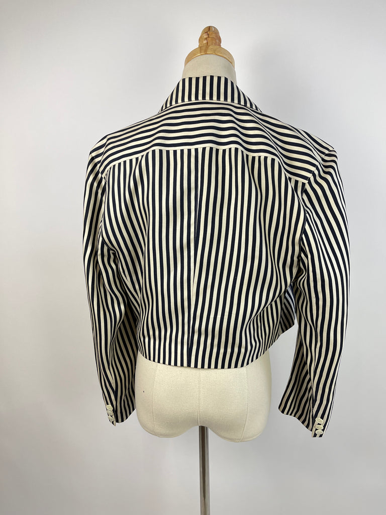 Grey Cowl Zip Sweater (XS/S)