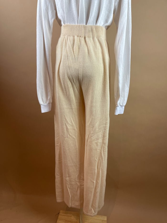 Zara White Peasant Blouse (M)