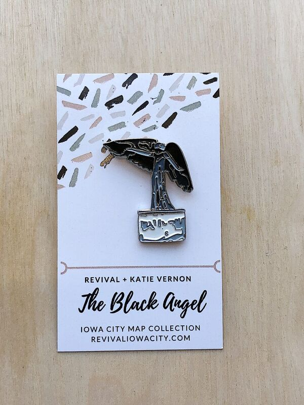 IC Map Pin: Black Angel